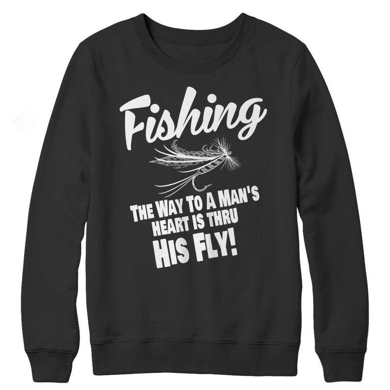 FishingTheWayToAMansHeartIsThruHisFly image 0