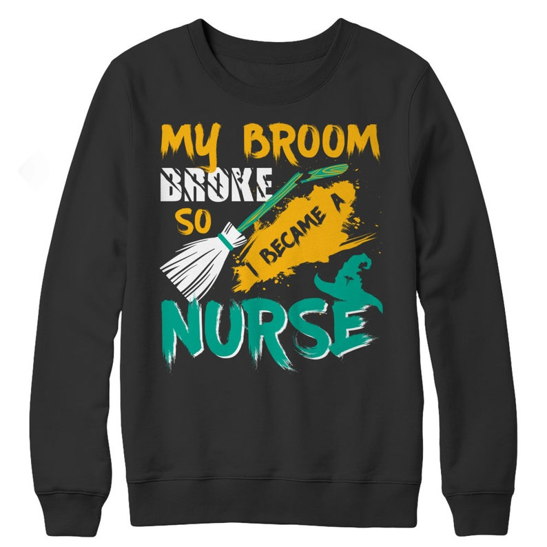 MyBroomBrokeSoIBecameANurse image 0