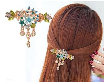 Floral folk hair fork Polish hair accessories