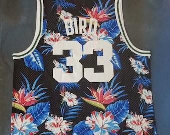 pretty nice 446b1 a1d2b Larry bird jersey   Etsy