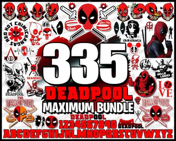 Deadpool svg Deadpool Bundle  Deadpool dxf eps png ai Deadpool files for Cricut Instant Digital Download