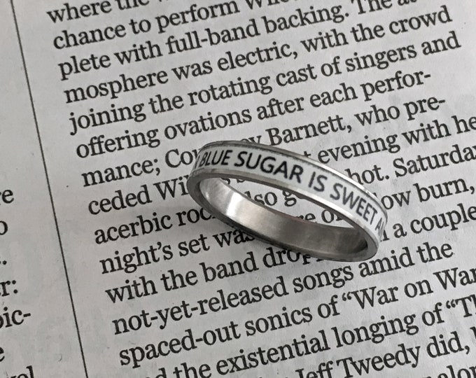 Titanium Ring, Mens Titanium Ring, Womens Titanium Ring, Wedding Ring, Wedding Band, Promise Ring, Friendship Ring, Titanium Inlay Ring