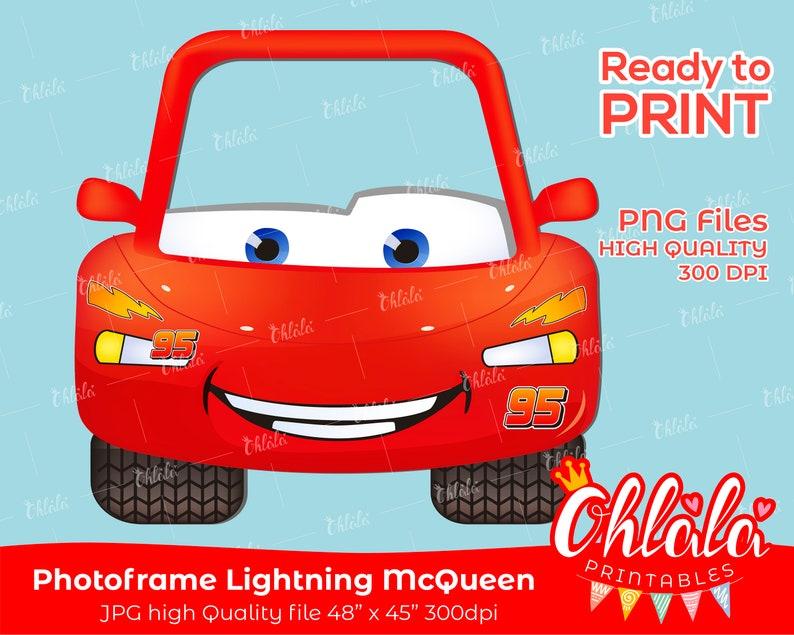 Lightning Mcqueen Printables