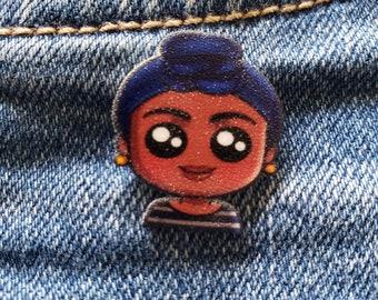 Backpack Pins F*ck Social Injustices Pin Black Lives Matter Decorative Pin Pin for Jacket Black Rights Matter Black Owned Novelty Pin