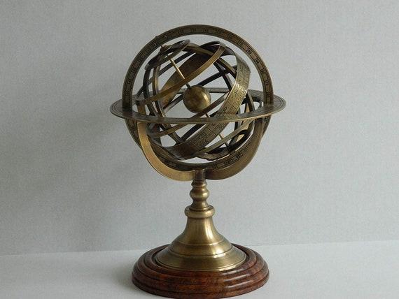 Armillary Sphere Antique 30cm, Antique Armillary Sphere