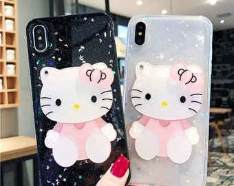 d16c5474d inspired by hello kitty Phone XR Case iPhone Xs Max Case iPhone 8 Plus Case  iPhone 8 iPhone X Xr 7 Plus Galaxy S8 S9 Case Galaxy S9 Plus