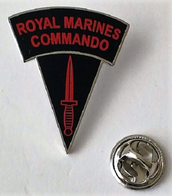 British Navy Royal Marine Commando Sew On Flash New Patch Badge Dress n-750