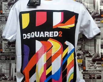 47d83784f078 Top Model 2019 Dsquared2 T-shirt ShortSleeve White