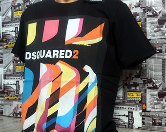 Dsquared2 New Mens D2 Polo T-shirt Size S M L XL XXL Free Shipping!