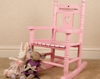 Child rocking chair | Etsy