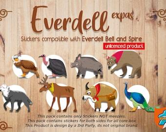 Everdell Bellfaire and Spirecrest Upgrade Kit (Unlicensed Product)