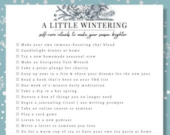 Winter Rituals   Winter Bucket List   Yule Rituals   Activities for Adults   Bucket List