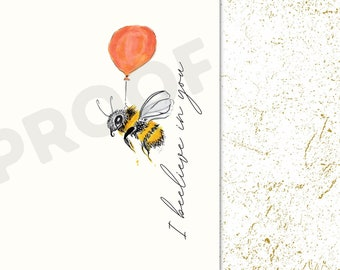 Bumblebee Iphone Wallpaper   Hand-Drawn Art   Bumblebee Art   Inspirational Quote   Nature print