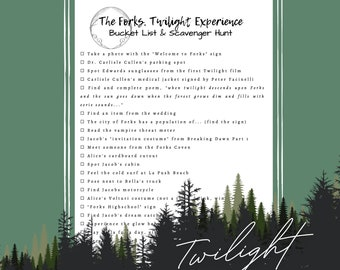 Forks   The Twilight Bucket List & Scavenger Hunt