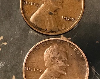 15/% off 5+ 1925 D Lincoln Wheat Penny