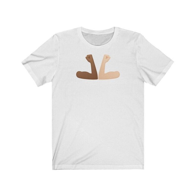 Fight Covid-19 Elbow Bump  Unisex T-shirt White