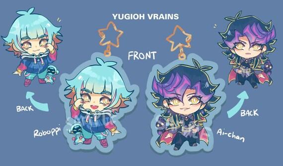 Yugioh Vrains Ai & Roboppi Acrylic Charm