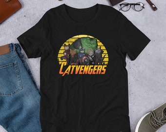 923298c3 Vintage catvengers T Shirt is a great gift for father, mother, baby, kid,  son, brother, sister, uncle, aunt, grandpa, grandma who loves cats