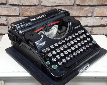 0e31a17d2e8c5 Continental typewriter   Etsy