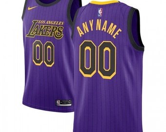 3d6b83b1bbbc Los Angeles Lakers 2018-19 City Edition Customizable Jersey