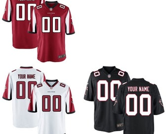 9291191b Mens and Youth Atlanta Falcons Custom Name & Number NFL Jersey Multiple  Colors Available