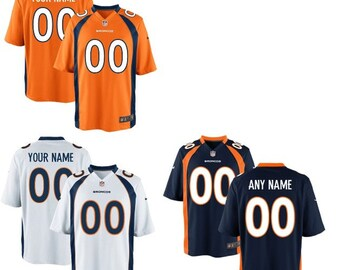 36645030 Mens and Youth Denver Broncos Custom Name & Number Jersey Multiple Colors  Available