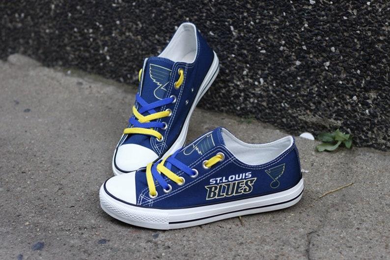 St. Louis Blues NHL Custom Made Shoes