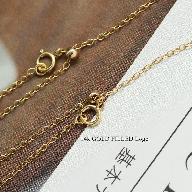 Wholesales jewelry Findings 120 14kGF 14K GOLD FILLED Adjustable Chain With Pin End