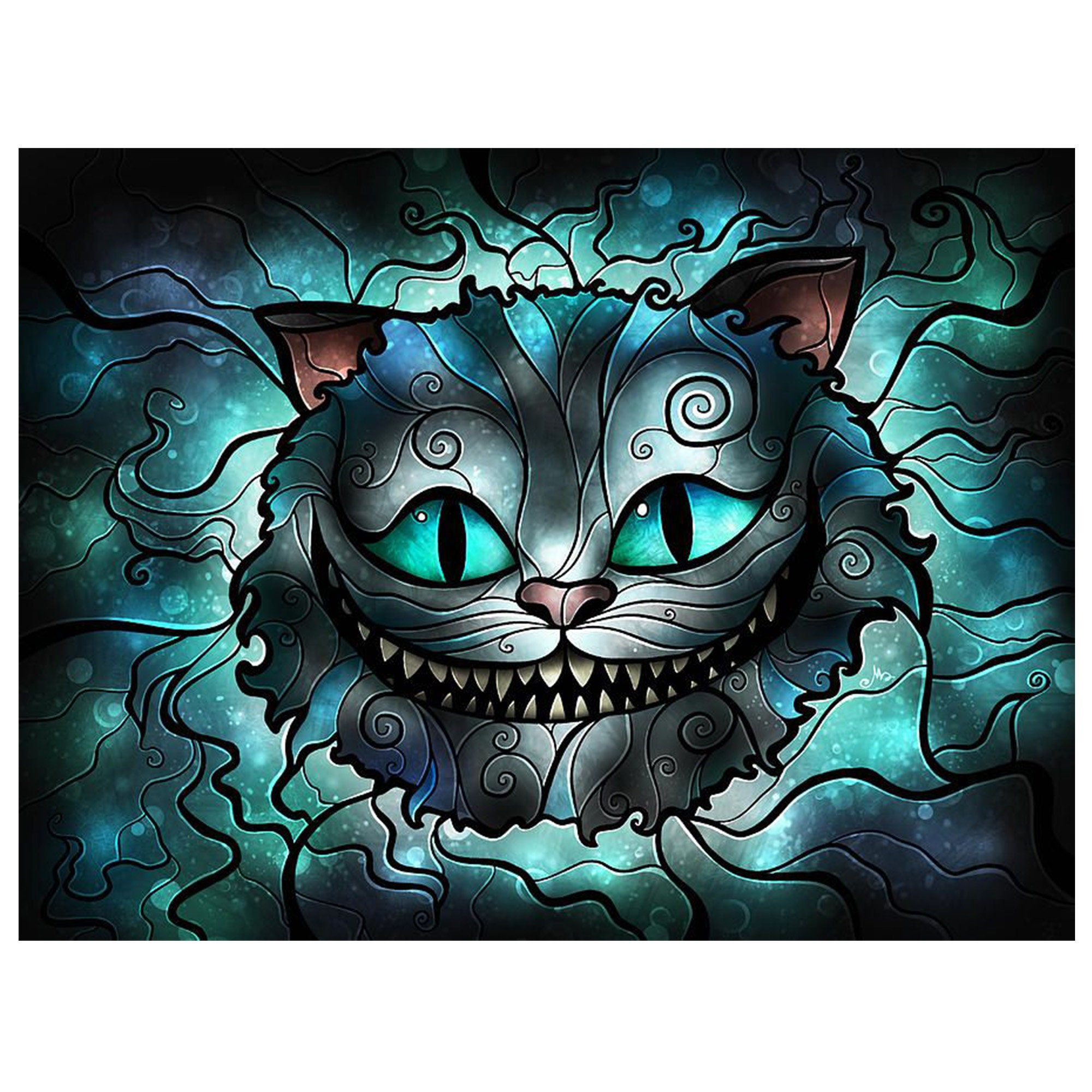 Cute Girl Cat Full Drill DIY 5D Diamond Painting Embroidery Cross Stitch Crafts