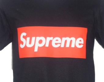 7581e68b Supreme Logo T Shirt - All Sizes and colours