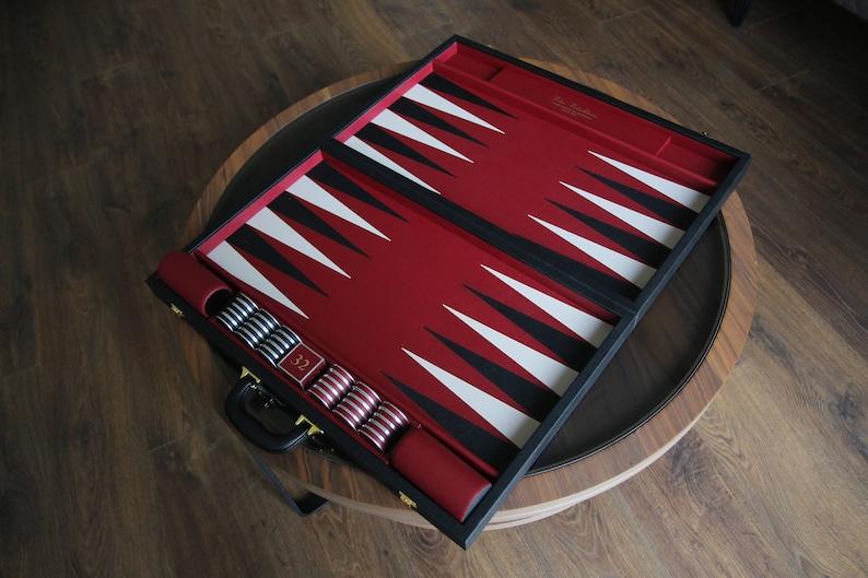 Luxury Handmade Backgammon Set