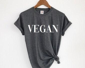 d811d118 Vegan Shirt, Vegan T-Shirt, Graphic Shirt, Vegan Clothing, Mens Shirt, Womens  Shirt, Gift For Vegan
