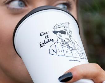 Braw Brew Reusable Coffee Mug - Party Burns