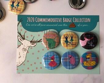 BrawBags 2020 Commemorative Badge Pack