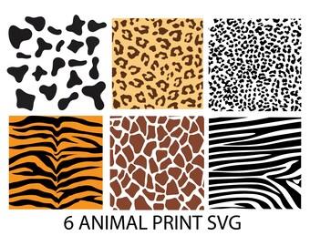 Giraffe Print Svg Giraffe Svg Giraffe Pattern Animal Print Svg Etsy