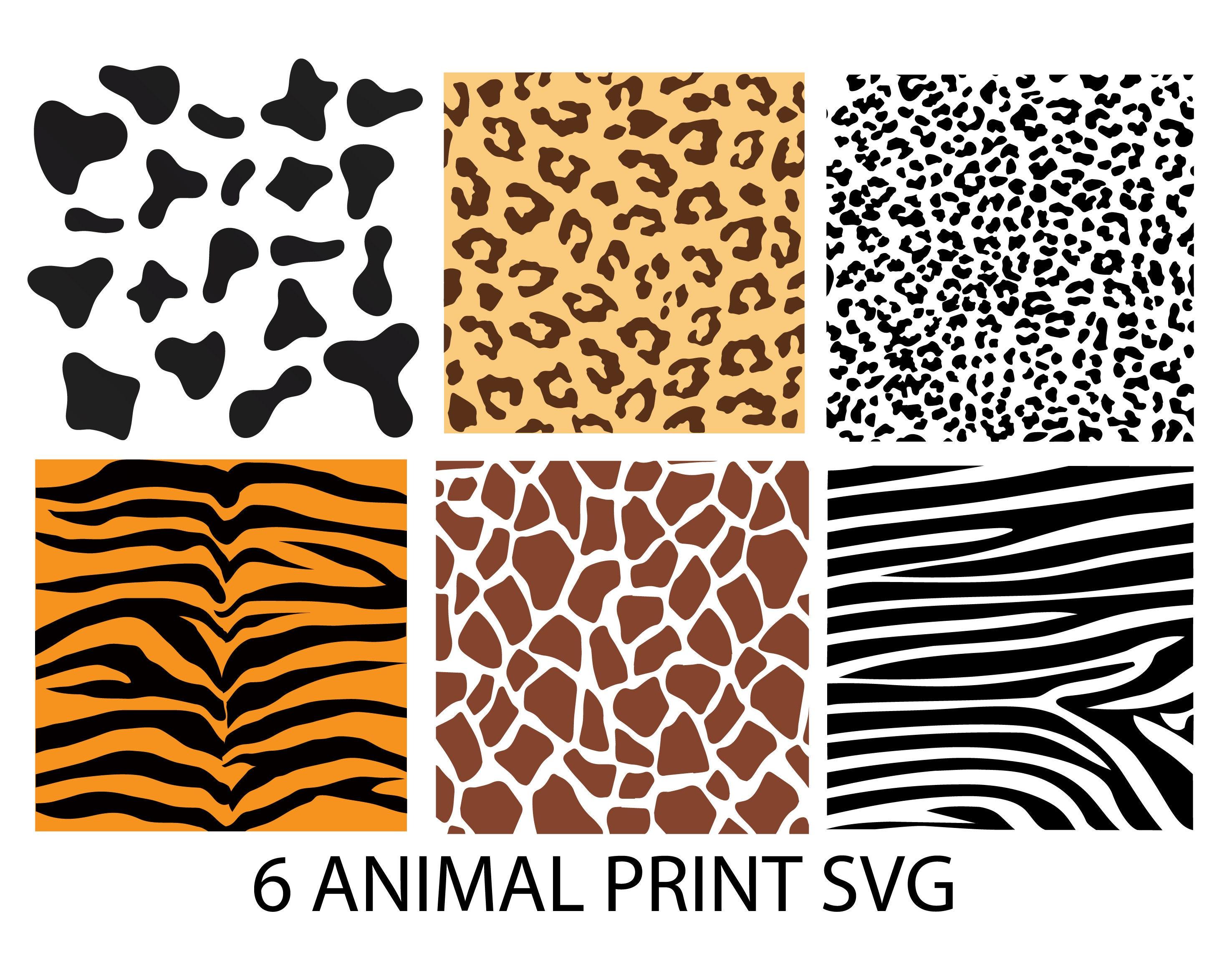 Leopard SVG Bundle Leopard Svg Files Leopard Patterns Svg Digital Download Leopard SVG 14 Leopard /& Zebra Seamless Patterns SVG Bundle