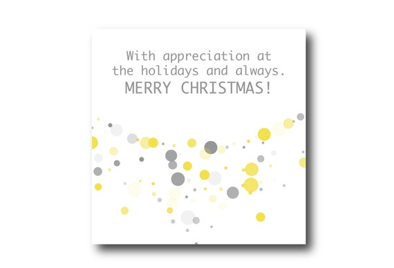 Digital Business Holidays Season card wishes, instant download, printable at home, ready to post, Pantone Colors 2021