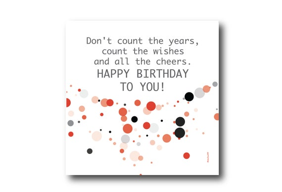 Digital Birthday Wishes, Greeting card, Pantone Colors, Social media image