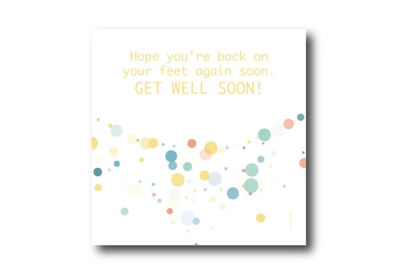 Digital Good Luck card wishes, instant download, printable at home, ready to post, Pantone Colors