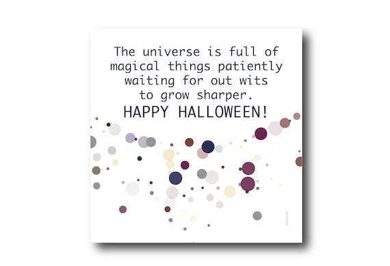Digital Halloween Card, Happy Halloween, Halloween wishes,  Funny Halloween Card,  Trick or Treat
