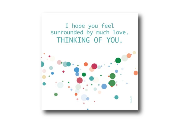 Digital Sympathy card wishes, instant download, printable at home, ready to post, Pantone Colors