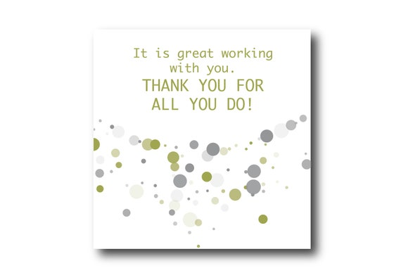 Digital Employee Appreciation card wishes, instant download, Pantone Colors