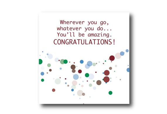 Digital Wedding Congratulation Greeting card wishes, instant download, ready to post, Pantone Colors