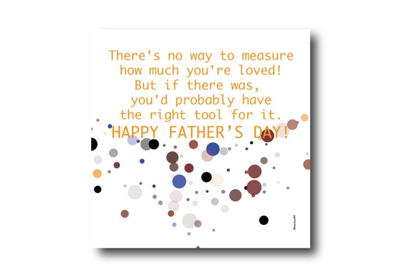 Digital Father's Day Card, Pantone colors, Father's day wishes, Funny Card