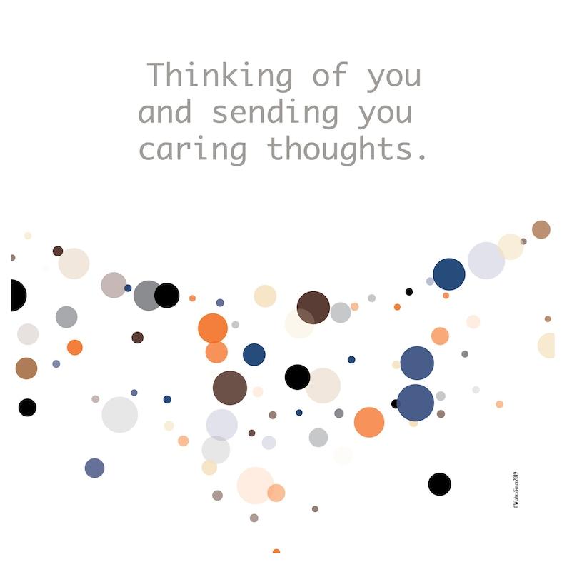 Sympathy message Digital Sympathy  Card Caring card Casual Sympathy message