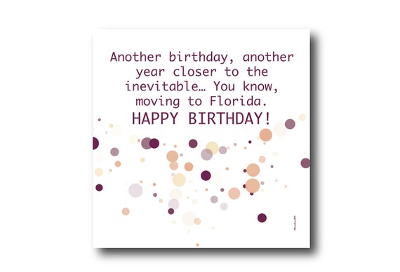 Digital Birthday Wishes greeting card, Pantone Colors