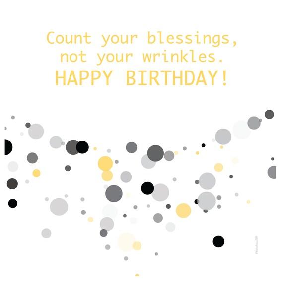 Digital Birthday Wishes greeting card Pantone Colors
