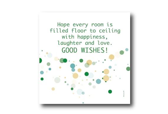 Digital Housewarming Greeting Card