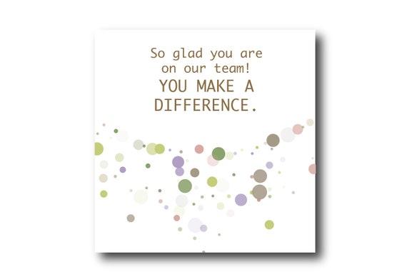 Digital Employee Appreciation card wishes, instant download, Social Media Image, Pantone Colors Bucolic