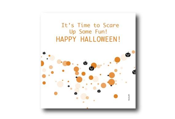 Digital Halloween Card, Happy Halloween, Halloween Scary wishes,  Funny Halloween Card